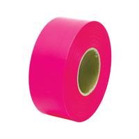 マーキングテープ 30mm×50m 蛍光ピンク 73798 1セット(10個) シンワ測定 (直送品)