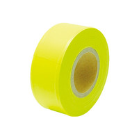 マーキングテープ 30mm×50m 蛍光イエロー 73799 1セット(10個) シンワ測定 (直送品)