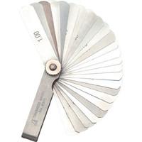 シックネスゲージ D 65mm 25枚組 73782 1セット(5個) シンワ測定 (直送品)