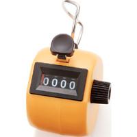 数取器 C プラスチック製 手持型 イエロー 75089 1セット(10個) シンワ測定 (直送品)