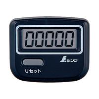 歩数計 ジョイウォーク Q ブラック 74132 1セット(10個) シンワ測定 (直送品)