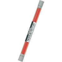 すみつけクレヨン(細書き) 赤替芯(3本入) SKHS-RED 1セット(20個) TJMデザイン (直送品)