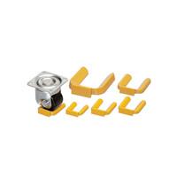 内村キャスター販売 キャスター用車輪 重量用キャスターホルダー NO.6H 1セット(50個) (直送品)