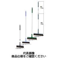 テラモト(TERAMOTO) 掃除用品 ブラシ BM-2ホーキ 伸縮柄 アクアブルー CL-465-220-5 1セット(2本) (直送品)