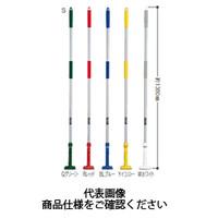テラモト(TERAMOTO) 掃除用品 ブラシ FXハンドル アルミ柄S Wホワイト CL-374-110-8 1セット(3本) (直送品)
