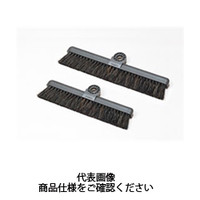 テラモト(TERAMOTO) 掃除用品 ブラシ BM-2ホーキ26 スペア アクアブルー 26cm CL-465-500-5 1セット(5個) (直送品)