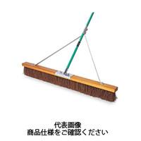 テラモト(TERAMOTO) 掃除用品 ブラシ コートブラシ シダ ステー付 180cm CL-414-618-0 1本 (直送品)