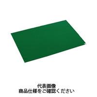 テラモト(TERAMOTO) 吸着・吸収マット 粘着マットシートG 緑 60枚層 60×120 一般用 MR-123-643-1 1枚 (直送品)