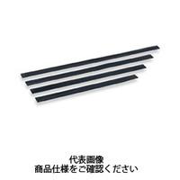 テラモト(TERAMOTO) 掃除用品 ブラシ スクイジー 真ちゅう用 替ゴム 40cm HP-502-040-0 1セット(3個) (直送品)