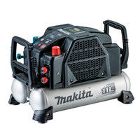 マキタ エアコンプレッサ(黒) 11L 高圧/一般圧 AC462XLB (直送品)