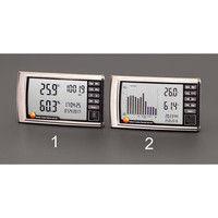 エスコ デジタル最高最低温度・湿度・気圧計 EA742CD-1 1個 (直送品)