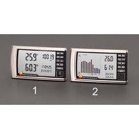 エスコ デジタル最高最低温度・湿度・気圧計 EA742CD-2 1個 (直送品)