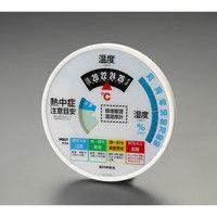 エスコ 熱中症指数計(温度・湿度計付) EA742MK-52 1個 (直送品)