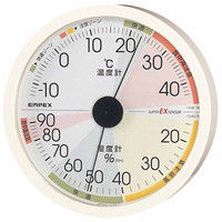 高精度UD温・湿度計 EX-2821 エンペックス (直送品)