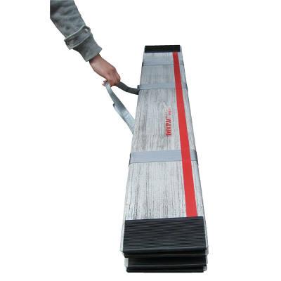 ASKUL】ケアメディックス 折りたたみ式軽量スロープ デクパック EBL