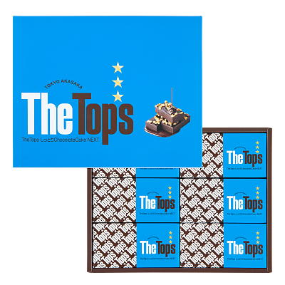 The Tops しっとり Chocolate Cake NEXT 6個入